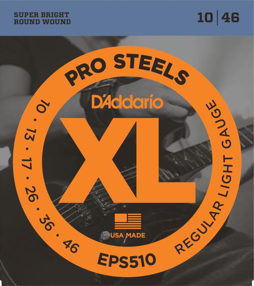 D'addarop EPS510 ProSteels Electric Guitar Strings