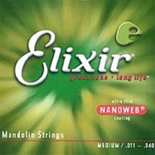 Elixir Nanoweb Mandolin Strings