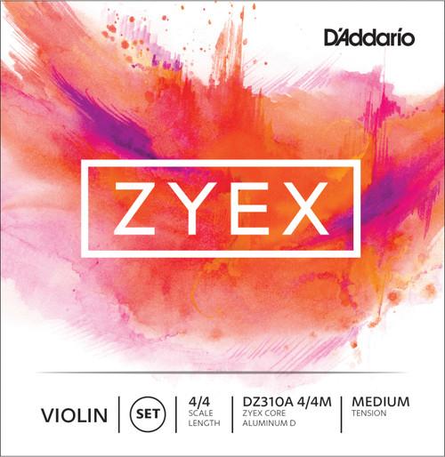 D'addario Zyex Violin Single Strings