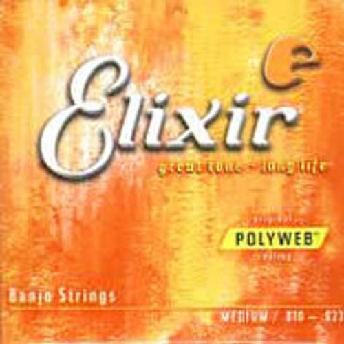 Elixir Polyweb Banjo Strings