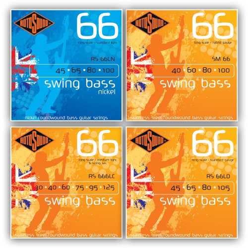 Rotosound 66 Swing Bass Guitar Strings
