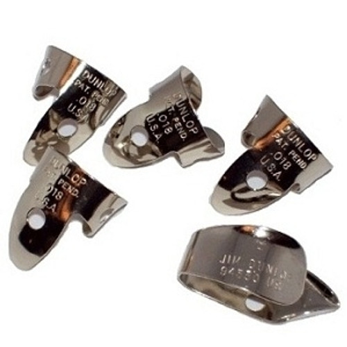 Dunlop Nickel Silver Finger & Thumbpick Sets