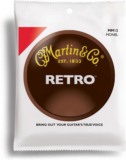 Martin Retro Monel Acoustic Guitar Strings