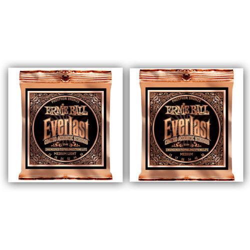 Ernie Ball Everlast Phosphor Bronze Strings