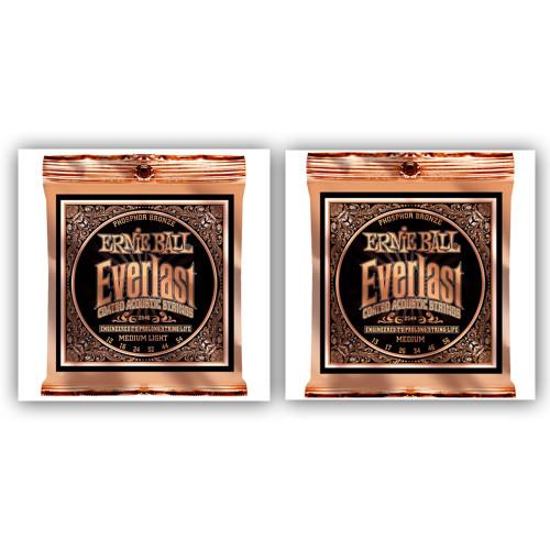 Ernie Ball Everlast Phosphor Bronze Strings