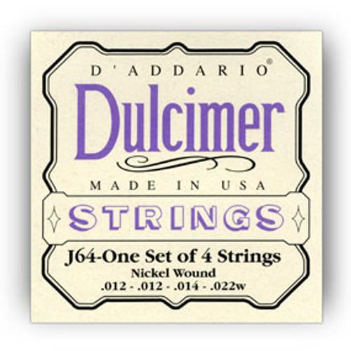 D/'Addario EJ64 4-String Dulcimer Strings