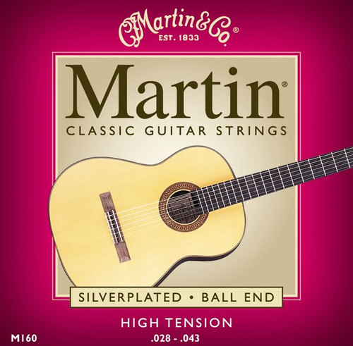 Martin M160 Ball End Classicial Guitar Strings from www.strings.ie