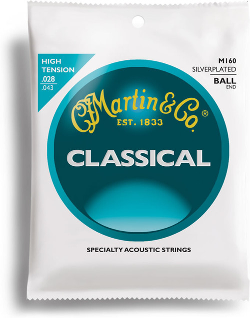 Martin M160 Ball End Classicial Guitar Strings