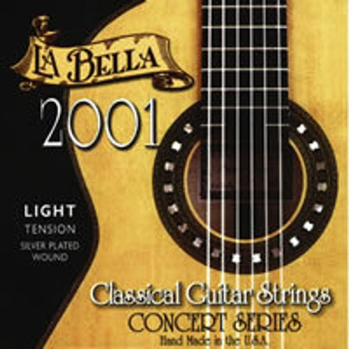 La Bella 2001 Classical Guitar Strings from www.strings.ie
