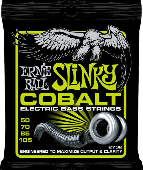 Ernie Ball Cobalt Slinky Electric Bass Guitar Strings from www.superstrings.com