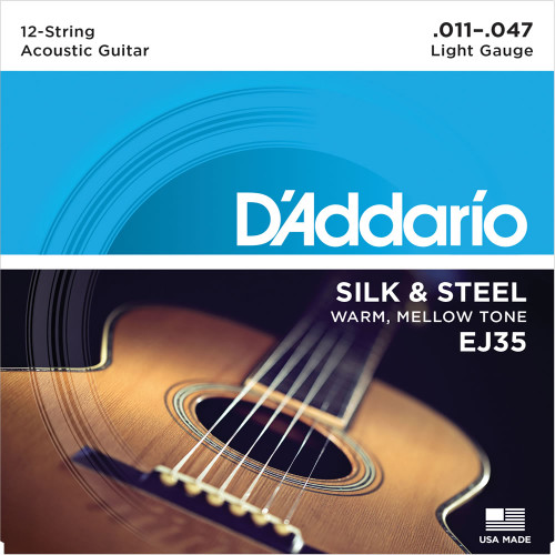 Daddario ej35 twelve string guitar strings ireland