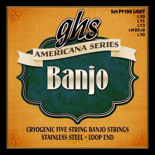 GHS Americana Banjo Strings Ireland