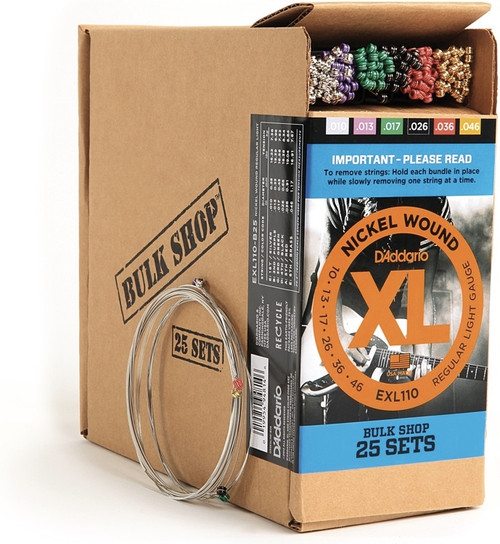 D'addario XL Bulk Shop 25 Sets Ireland