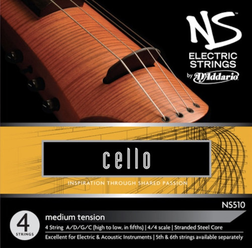 D'addario NS Electric Cello Strings