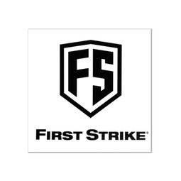 "First Strike 6"" Decal / Black"