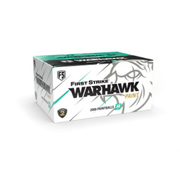 First Strike Warhawk .68 Cal Paintballs (2000CT) - Yellow/Purple Shell - Yellow Fill