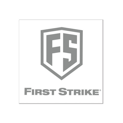 "First Strike 6"" Decal / Silver"