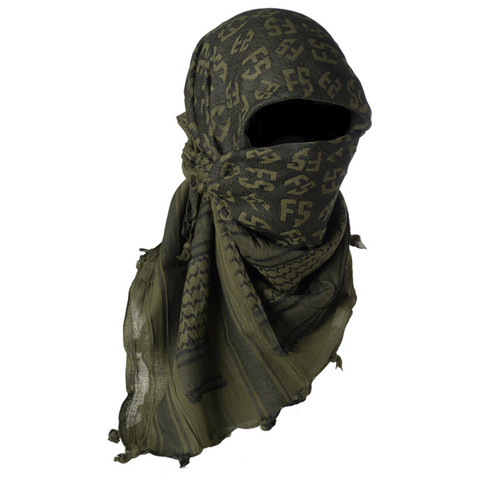 First Strike Shemagh - Olive Drab/Black