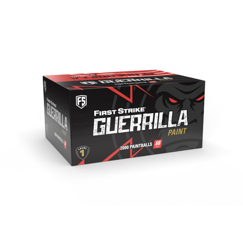 First Strike Guerilla .68 Cal Paintballs (2000CT) - Pink Shell - Pink Fill