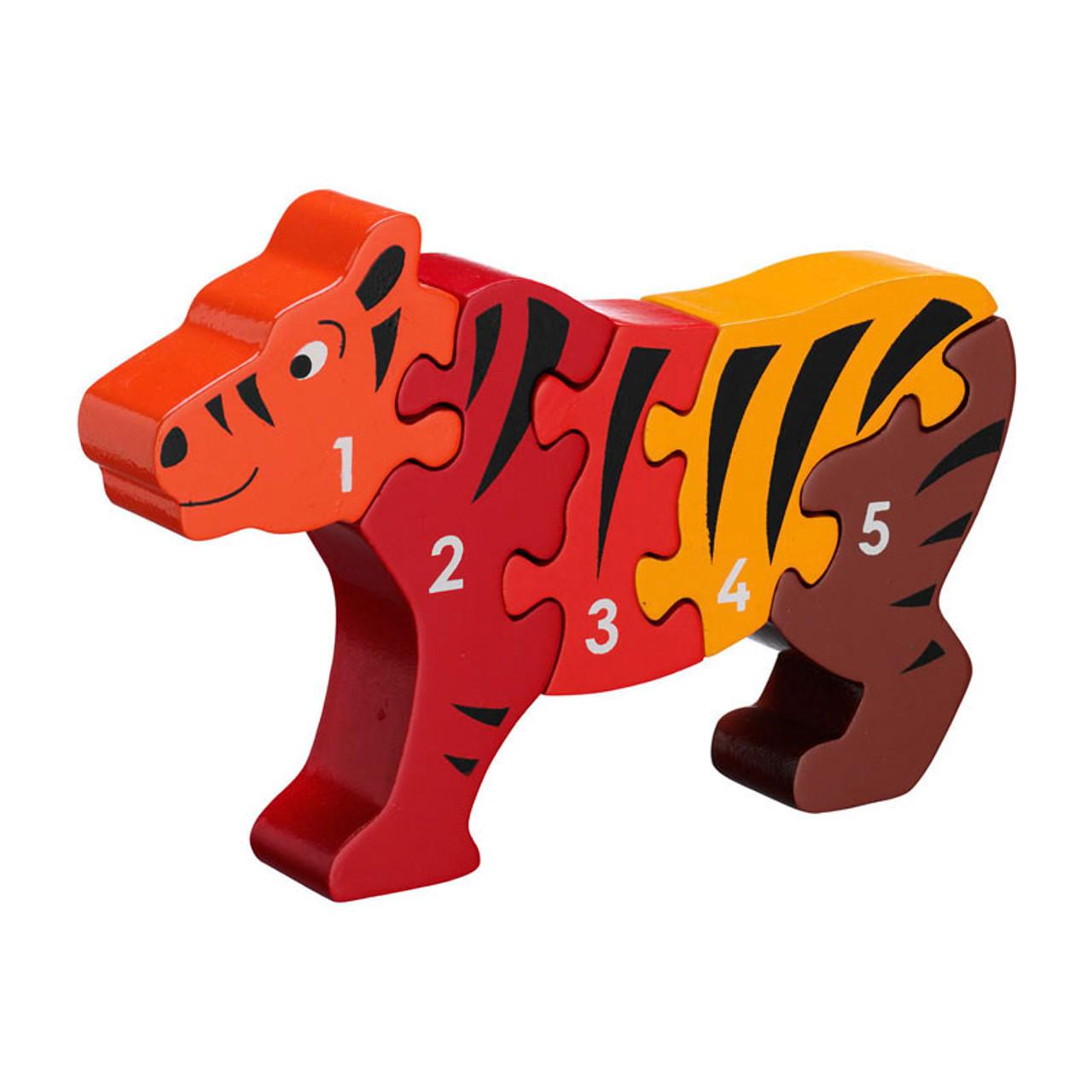 Lanka Kade Fair Trade Animal Jigsaw 1-5 (buy 2+ and save)