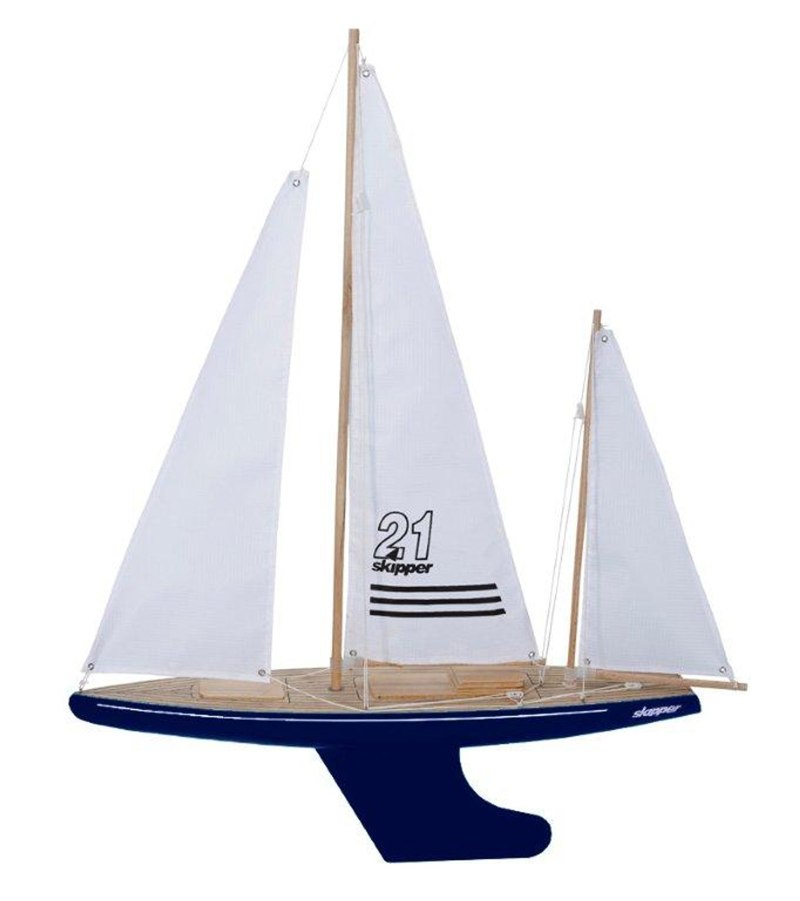 Skipper Pond Yacht - Bluewater Blue - 21 inch