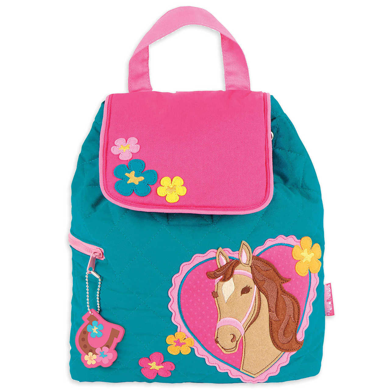 1783cb558b9d Toddler Backpacks - Stephen Joseph Quilted Horse Backpack