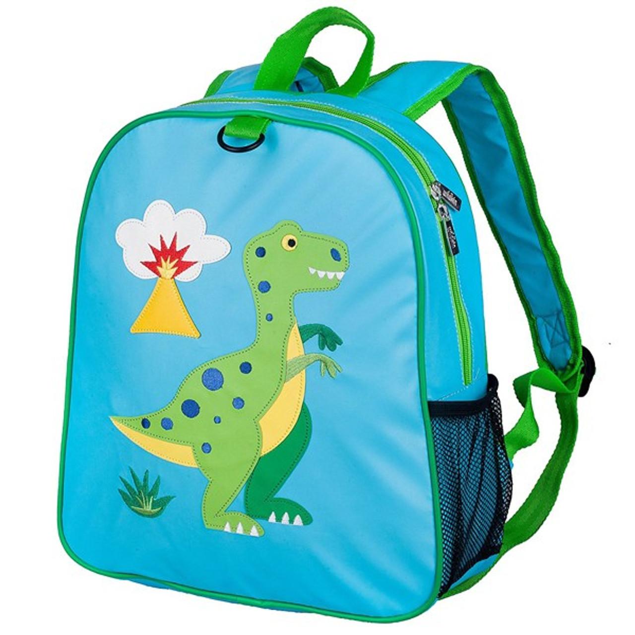 d3434ba8e3f7 Wildkin Embroidered Kids Backpack - Dinosaur