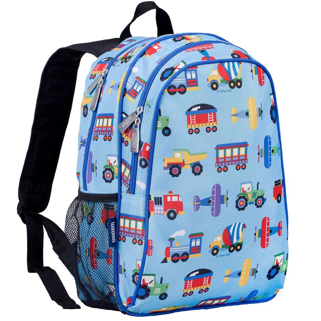 deb007e8486d Wildkin Olive Kids Backpack with Side Pocket - Transport