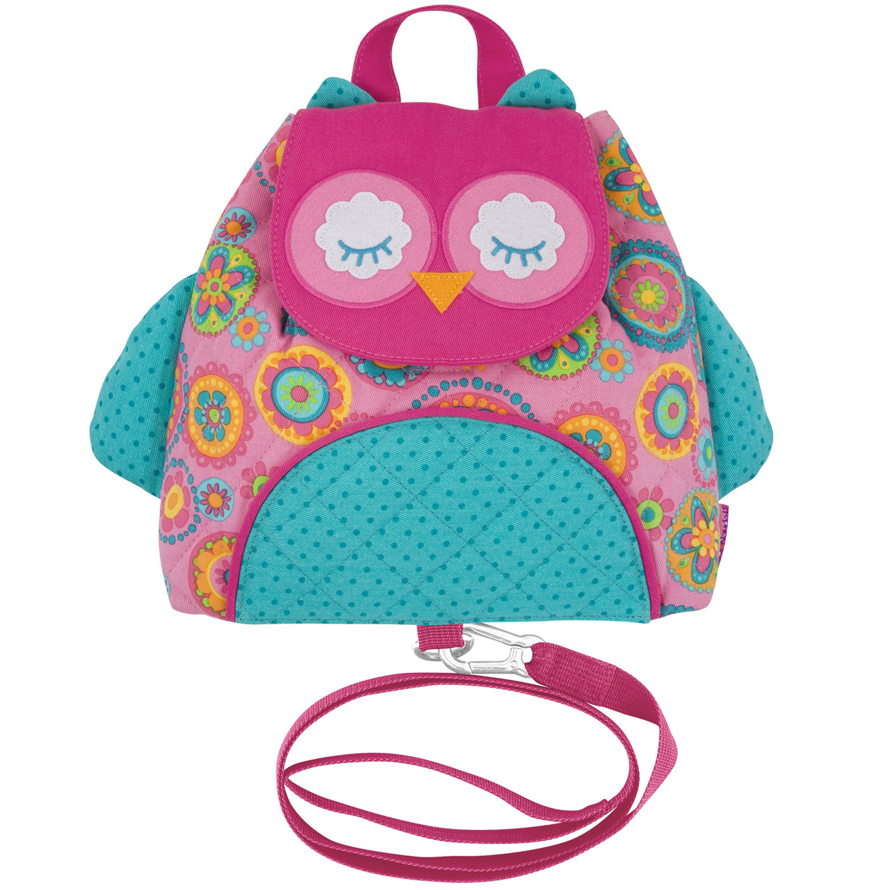 Little Buddy Bag with Safety Harness - Owl - Stephen Joseph 6ef487249f34d