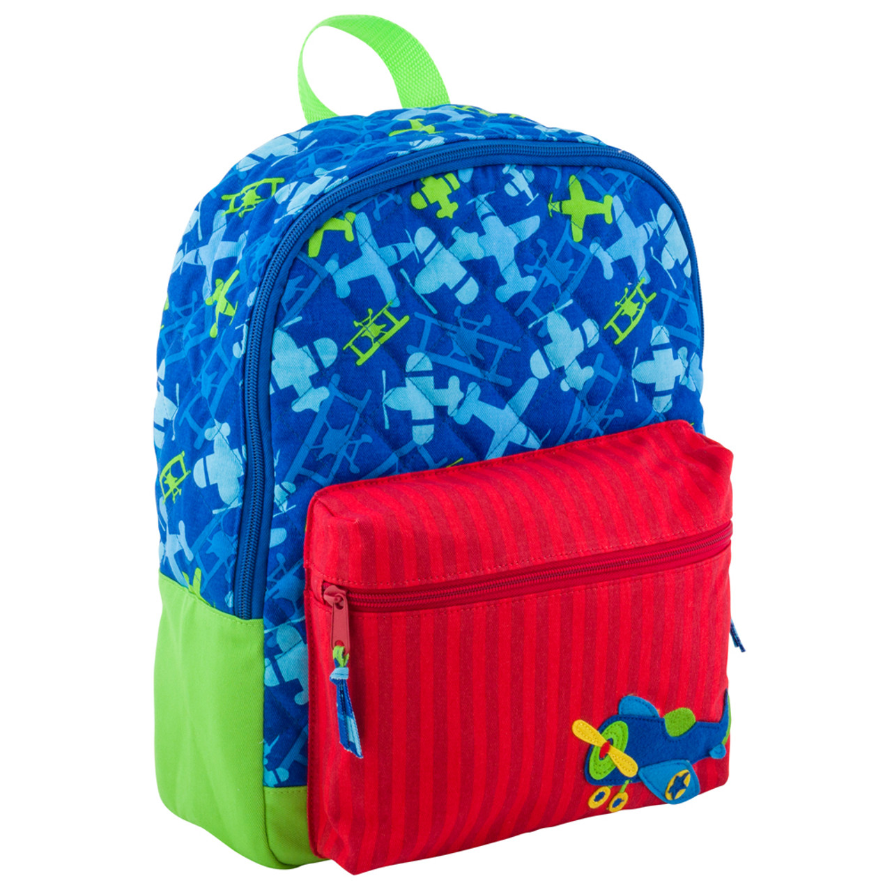 Stephen Joseph Quilted Aeroplane Backpack