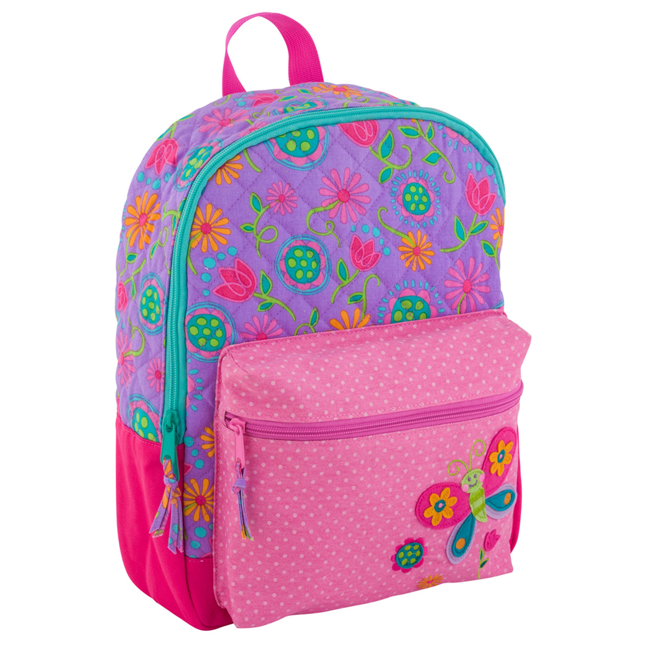 4d1bac7fd5 Stephen Joseph Quilted Butterfly Backpack - Toddler Backpacks