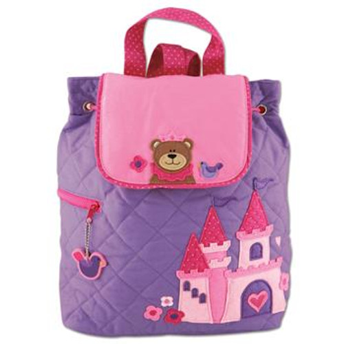 Stephen Joseph Quilted Backpack - Princess
