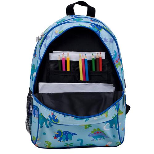 cf14c0cfd6e7 Wildkin Olive Kids Backpack with Side Pocket - Dinosaur