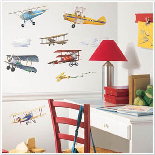Aeroplane Themed Bedroom