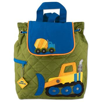 Stephen Joseph Quilted Construction Backpack