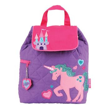 Stephen Joseph Quilted Backpack - Unicorn