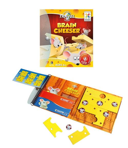 Smart Games Brain Cheeser - Magnetic Travel Games