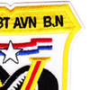 308th Combat Aviation Battalion Patch Black Adler | Upper Right Quadrant