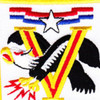 308th Combat Aviation Battalion Patch Black Adler | Center Detail