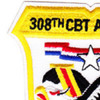 308th Combat Aviation Battalion Patch Black Adler | Upper Left Quadrant