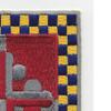 306th Cavalry Regiment Patch | Upper Right Quadrant