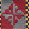 306th Cavalry Regiment Patch   Center Detail