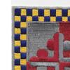 306th Cavalry Regiment Patch | Upper Left Quadrant