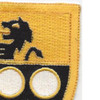 305th Cavalry Regiment Patch | Upper Right Quadrant