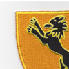 304th Cavalry Regiment Patch | Upper Left Quadrant