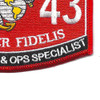 3043 Supply Administrator & Operations Specialist MOS Patch | Lower Right Quadrant