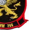 VMM-266 Marine Medium Tiltrotor Squadron Large Patch | Lower Right Quadrant