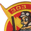 303rd Fighter A-10 Squadron Patch | Upper Left Quadrant