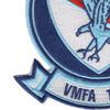 VMFA-115 Marine Corps Fighter Attack Squadron Silver Eagles Patch | Lower Left Quadrant