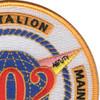 302nd Naval Construction Battalion Maintenance Unit Patch | Upper Right Quadrant